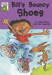 Gates-Susan-Leapfrog-Bill-039-s-Bouncy-Shoes-Very-Good-Book