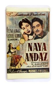 Naya-Andaz-1956-Kishore-Kumar-Meena-Kumari-Bollywood-PressBook-Vintage-Booklet