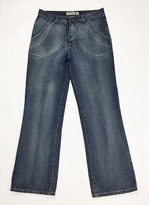 Conbipel studio jeans uomo usato gamba dritta w36 tg 50 straight boyfriend T3368