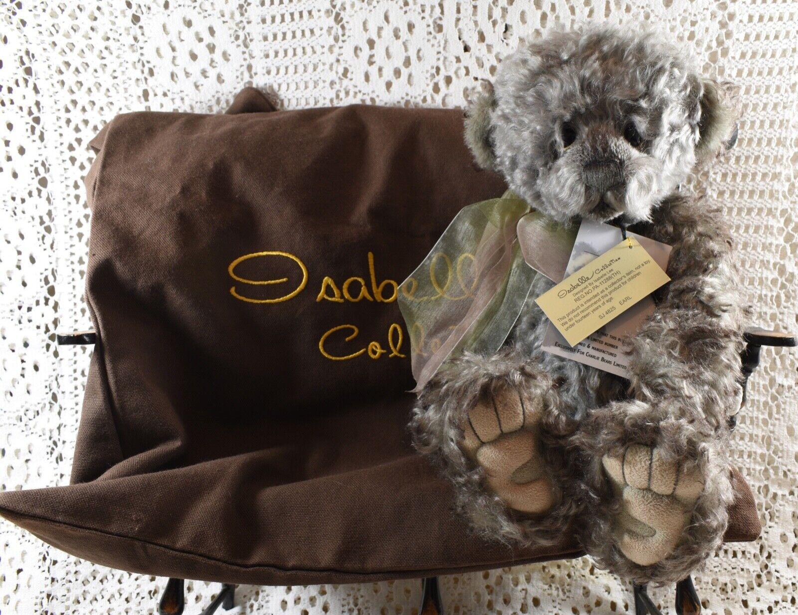 RITIRATO RARO Isabelle Lee 100% MOHAIR Ltd Edition 242 400 Earl Bear 13