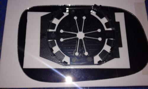 Piastra Dx Cromato per Specchietto Retrovisore Volvo V50 dal 2007/>01.2009 Vetro