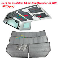 Rubicon JK For Jeep Wrangler 2012-2015 Hard Top Headliner Kit 4 Door Insulation