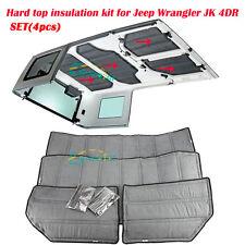 Rubicon JK For Jeep Wrangler 2012-2015 Hard Top Headliner Kit 4 Door Insulation