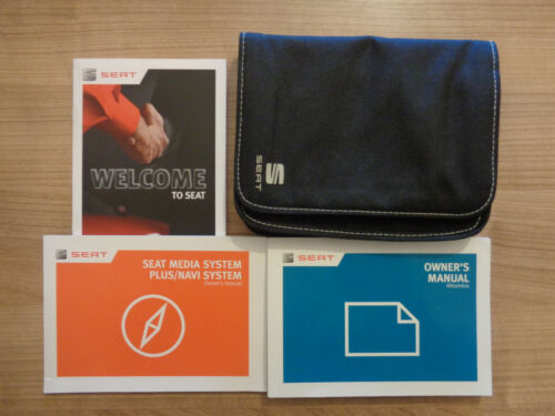 Seat Alhambra Owners Handbook//Manual and Wallet 10-17
