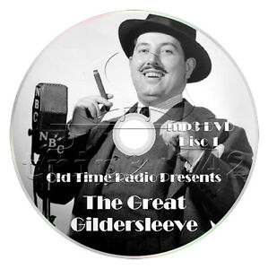 Details about The Great Gildersleeve (OTR) 527 Episodes - Old Time Radio (2  x mp3 DVD)