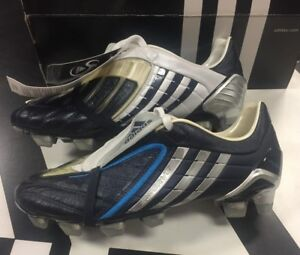 the sale of shoes wholesale fresh styles Details about adidas Predator Powerswerve TRX FG US 6.5 RARE Dark Indigo