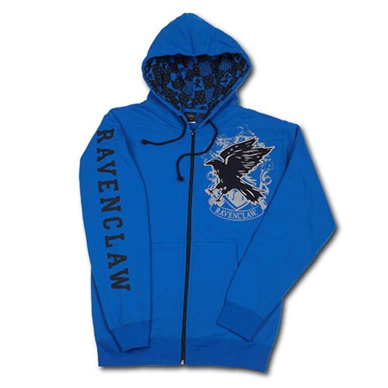 Wizarding World Of Harry Potter Ravenclaw Hoodie Jacket S M L XL XXL
