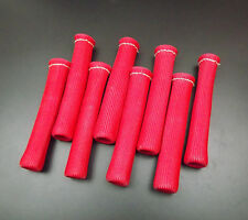 New Red 1200° Spark Plug Wire Boots Heat Shield Protector Sleeve Sbc BBC 350 454