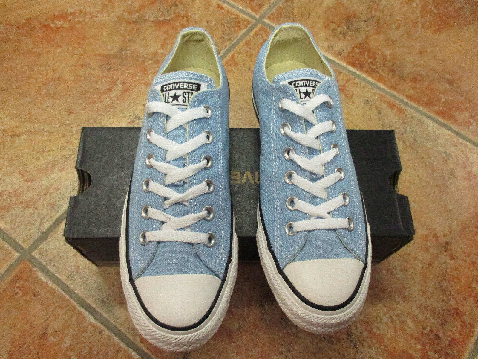 Converse Chucks All Star OX Gr. 37  Blau SKY / HELLBLAU NEU TOP