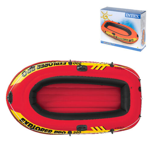 Explorer Boat 2 Person Inflatable Rubber Dingy Leisure Beach Holiday