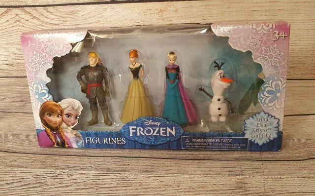 Disney Frozen 4pack Figurine Playset Action Figures 4 Piece Figure Set