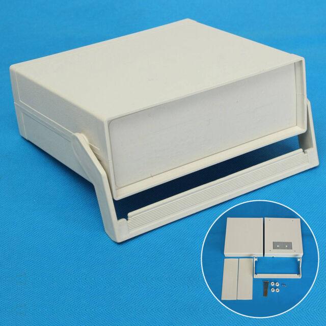 198x175x70mm Plastic Electronic Enclosure PCB Box Case Desk Shell Cover