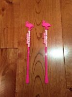 Grand Theft Auto Gta Vice City Stories Drink Stirrers X2 Promo Rare Limited