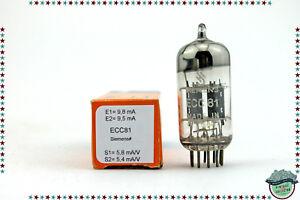 ECC81 -12AT7 Siemens ≠ Vacuum Tube- Valve- Röhren- tested- NOS- NIB lqeRMJGI-09085510-266463990