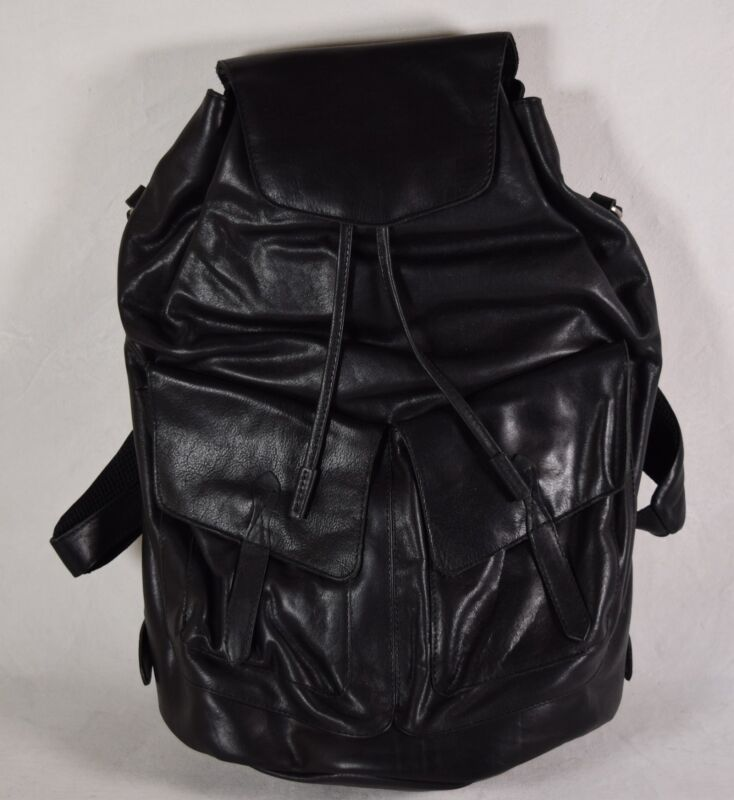Monreaux Backpack Leather Josephine In Black New