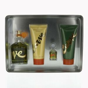 Image is loading CURVE-by-Liz-Claiborne-4-PIECE-GIFT-SET- & CURVE by Liz Claiborne 4 PIECE GIFT SET - 4.2 OZ COLOGNE SPRAY NEW ...