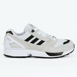 8d6914b6e New Adidas Unisex ZX 8000 Running Shoes Sneakers - White Black ...