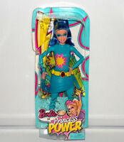 Barbie In Princess Power Water Super Hero Makayla Sparkle Doll Fashion Figure