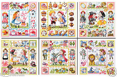 SODAstitch  A Fairy Tale series total 18 patterns.