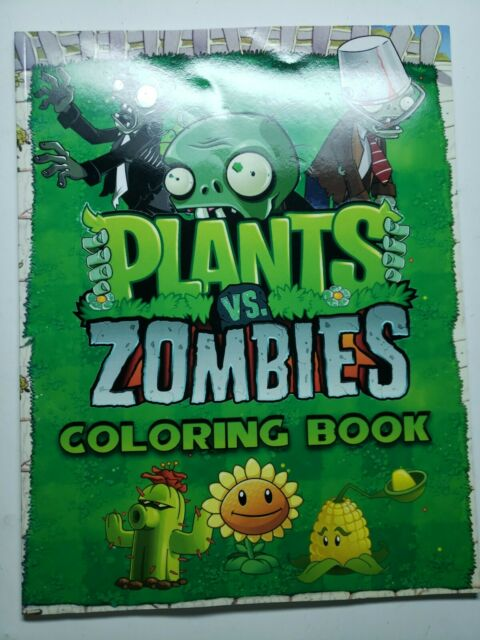 Plants Vs Zombies Coloring Book : Great Coloring Pages For Kids , Ages 2-8  By Kelen Svaiper (2019, Trade Paperback) For Sale Online EBay