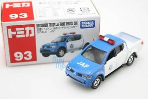 Takara-Tomica-Tomy-93-Mitsubishi-TRITON-JAF-Road-Service-1-66-Diecast-Toy-Car