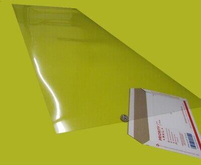 "PVC Sheet Film Clear .0075/"" Thick x 20/"" Wide x 50/"" Length 5 Units"