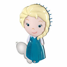 Disney Store Authentic Frozen Elsa Hair Brush & Olaf Mirror Set NWT