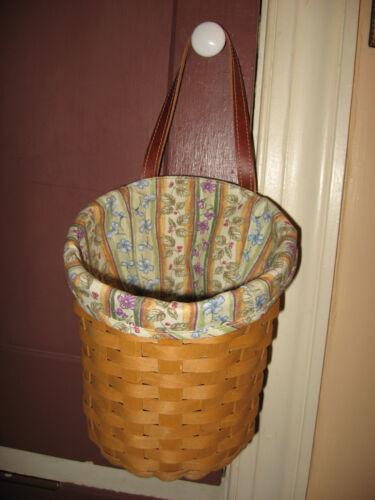 NEW Longaberger Botanical Fields Stripe Fabric Liner 4 Your Large Foyer Basket