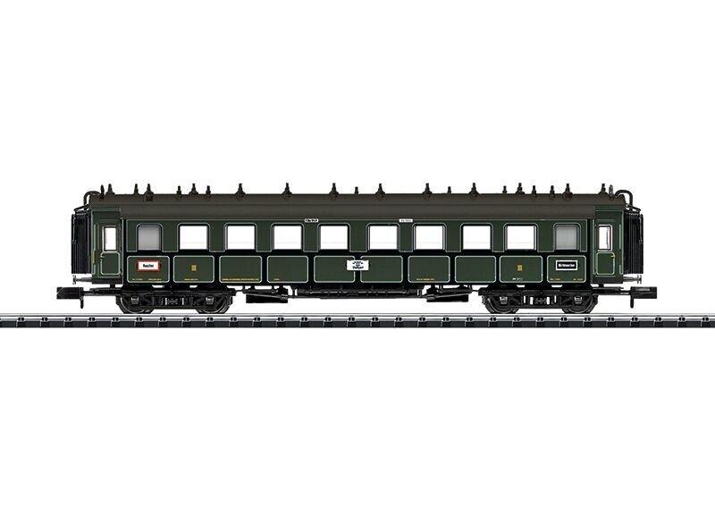 Trix t15970 treno rapido auto 3. classe dei Bay. Ferrovie dello Stato, Ep. i, Traccia N