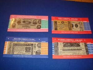 US Civil War Currency, Union States, New York, Ohio & Illinois-27 Reproductions