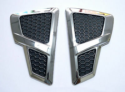 CHROME FENDER SIDE VENTS TURN LIGHT COVER ISUZU RODEO 2012+ ALL NEW DMAX D-MAX
