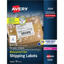 Weatherproof Mailing Labels 3 13x4300bx We Laser Labels