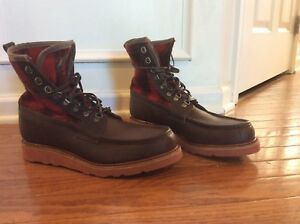 720903676a5 Details about mens size 10 Wolverine/Stormy Kromer USA MADE PENINSULA BOOT