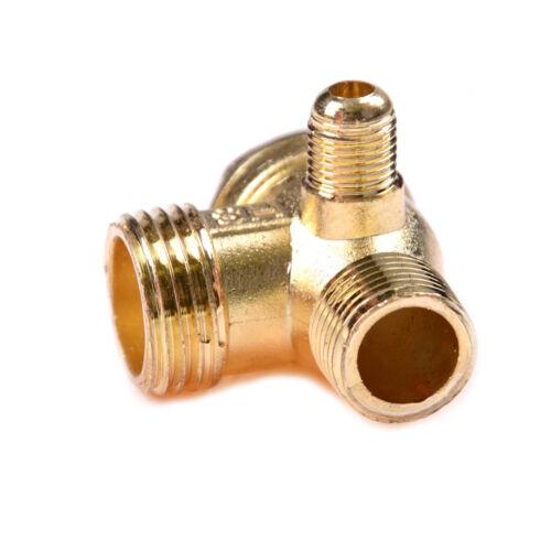 Luft-Kompressor Messing männlich Gewinde Rückschlagventil Steckverbinder XJW0HXB