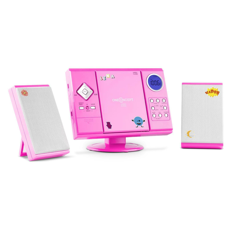 ONECONCEPT V-12 GrünIKAL MP3 CD PLAYER STEREOANLAGE USB SD AUX WECKFUNKTION