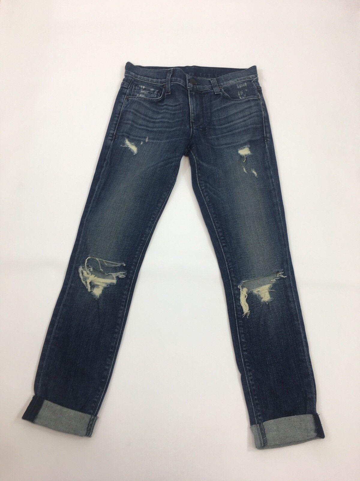 Ksubi Women's Denim Distressed Skinny Jeans Sz24