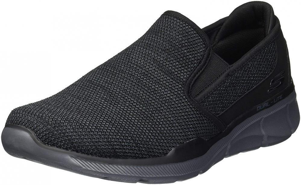 Skechers Men's Equalizer 3.0 Sumnin Walking Mesh Slip-On Loafers Comfort Casual