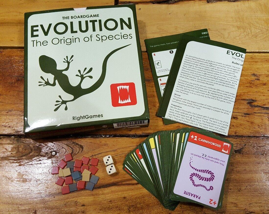 Evolution  The Origin of Species (tavola gioco) Right giocos  Dmitry Knorre RARE OOP  alta quaità