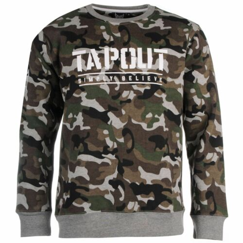 BNWT Tapout Camouflage Sweat XL RRP £ 29.99 FREE p/&p