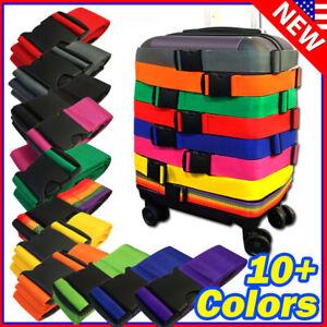Lot-Travel-Luggage-Suitcase-Strap-Belt-Baggage-Backpack-Bag-Package-TSA