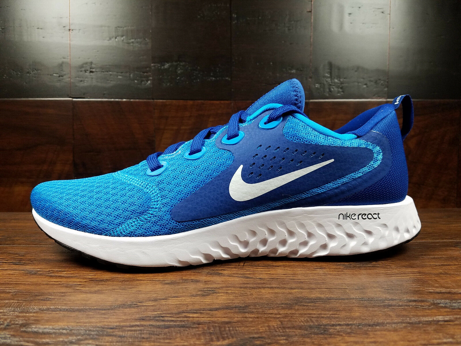Nike Legend REACT (bluee Hero   White) Running  Size 8-13