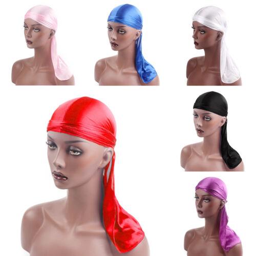 Unisex Men Women Velvet Breathable Bandana Hat Turban Caps Doo Headwear