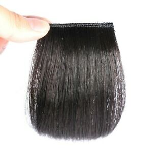 1pcs-100-Human-Hair-Mini-Topper-Toupee-Bangs-Clip-Hairpiece-Top-Wig-Women-Men