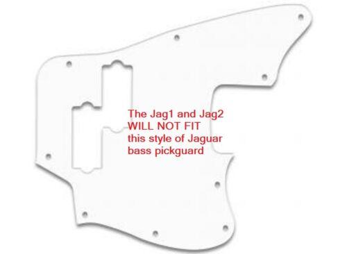 No Mods No Holes Zero-Mod JAG2 Thumb Rest Tug Bar for FENDER JAGUAR Bass 64mm