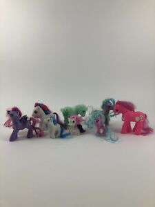 My Little Pony Lot 8 Ponies Some HTF 2006, 2007 MLP Unique Toys