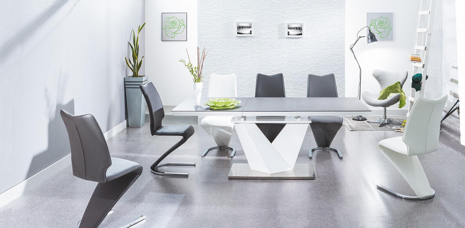 Esstisch Tisch Designertisch LUXOR ONE Tischplatte Esszimmer