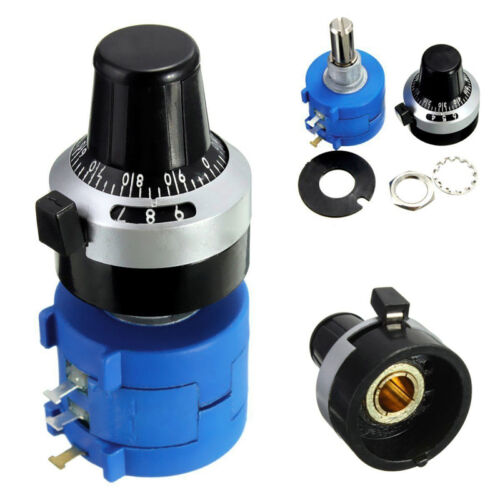 10K Ohm 3590S-2-103L With Turn Counting Dial Rotary Potentiometer Pot 10 Turn