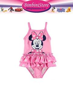 Costume-mare-piscina-neonata-minnie-disney-originale-0-3-6-9-12-18-24-mesi