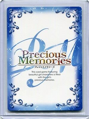 JAPANESE Anime Precious Memories Madoka Magica Tomoe Mami SIGNED(Silver FOIL)