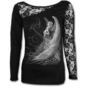Spiral-Direct-Captive-Spirit-Spitze-Top-Shirt-L-XL-Gothic-Kleidung-Neu